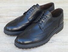 Scarpe uomo francesine Mod.SUSSEX in vitello e suola in gomma MADE IN ITALY