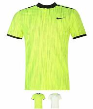 MODA Nike Dri Fit Tennis Polo Shirt Mens White/Volt
