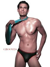 Vip frenchie Groove Men's Briefs 2 pc pack Asstd colors (Combo)