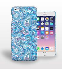 Cyan Bandana pattern Printed Phone Case Cover for mobile phone