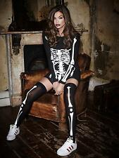 Ann Summers Womens Miss Bones Skeleton Dress Print Erotic Bodycon Sexy Costume