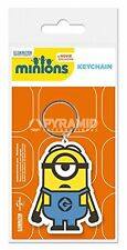 New Minions Stuart Rubber Keyring Official Despicable Me UK Gift Geek Keychain