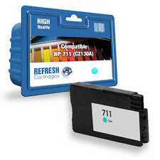 COMPATIBLE HIGH CAPACITY CYAN INK CARTRIDGE FOR HP DESIGNJET (CZ130A / HP 711)