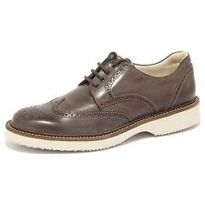 90242 scarpa HOGAN H 217 ROUTE DERBY BUCATURE uomo shoes men