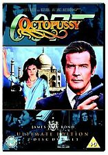 OCTOPUSSY - ROGER MOORE (DVD, 2006, 2-Disc Set)