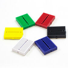 Breadboard 170 Tie Points Various Colours Great for Prototyping UK Seller