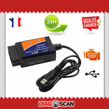 Vgate BLUETOOTH ELM327 Interface de diagnostic multimarque Windows Android OBDII