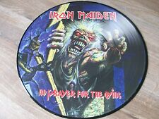 IRON MAIDEN RARE PICTURE NO PRAYER FOR THE DYING