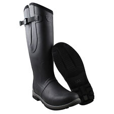 WOOF WEAR RIDING WELLY WELLINGTON BOOTS HORSE PONY EQUINE - NATURAL RUBBER