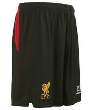 Warrior Liverpool FC visitante Short 2014 2015 Negra roja Todas las Tallas