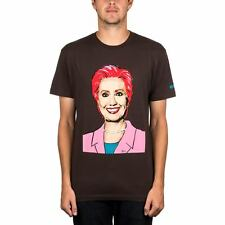 Enjoi Hilary President Tee Dark Chocolate