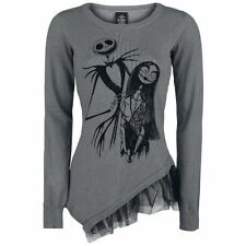 The Nightmare Before Christmas  Felpa donna - Jack And Sally Pullover