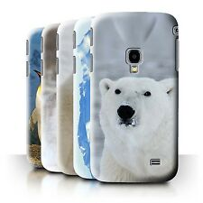 STUFF4 Phone Case/Back Cover for Samsung Galaxy Beam 2/G3858 /Arctic Animals