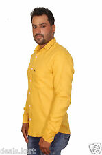 Men's Polo 100% Cotton Imported Branded Shirts (yellow)