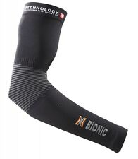 X-BIONIC ARMS XQ-2 ENERGY ACCUMULATOR SUMMER LIGHT Black-Pearl Grey
