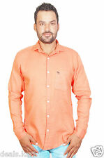 ShirtAbercrombie & Fitch Men's Polo 100% Cotton Branded Shirts (Orange Color)