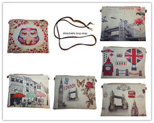 British Novelty Souvenir Gift Cross Shoulder Messanger Passport Purse Bag lot