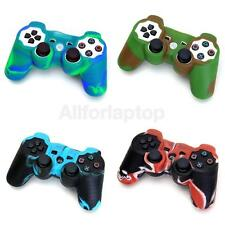 4 xCamo Silikon Cover Vary Tasche Für Sony PS2 PS3 Playstation 2 3 Controller