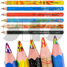 MAGIC JUMBO Pencil by Koh i noor multicoloured led - 6 different colours