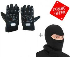 Combo Pack Facemask with Probiker Gloves