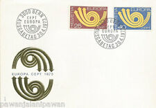 SWITZERLAND - FDC - EUROPA - 2 STAMPS - ARROWS
