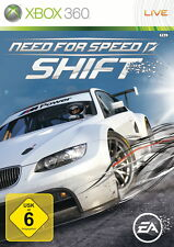 Xbox 360 Spiel NEED FOR SPEED SHIFT - Rennspiel EA DEUTSCH
