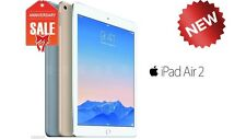 NEW Apple iPad Air 2 16GB WiFi Cellular (UNLOCKED) 9.7 Touch ID GOLD GRAY SILVER