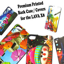 Designer Soft Back Case Cover For Lava Iris X8