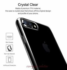 Ultra Thin Crystal Clear Transparent Hard Back Case Cover for iPhone 7 Plus / 7+