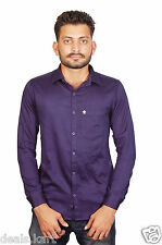 EXCLUSIVE Men's Polo 100% Cotton Imported Branded Shirts (Dark Purple Color)