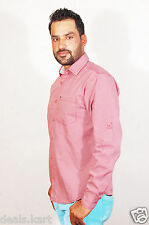EXCLUSIVE Men's Polo 100% Cotton Imported Branded Shirts (Red+White Printed)