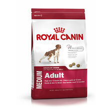 Royal Canin Medium Adult crocchette cane cani adulti taglia media sacco 15 kg