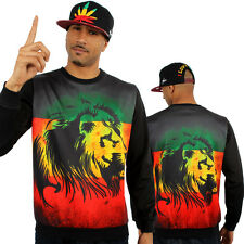 Rasta Leone Di Giuda Pace Grafica Pullover Is Top Felpa Maglia Money Time