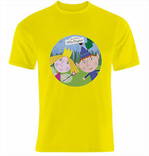 CAMISETA infatil Ben and Holly - TALLA S M L XL XXL XXXL SIZE T-SHIRT