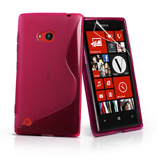 Ultra Slim Wave Silicone Gel Back Case Cover For Nokia Lumia 720-- iSimple