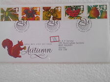 GB UK -AUTUMN 1993 - FDC - uk063
