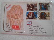 GB UK -FIRETDAYCOVEN1995 - FDC - uk077