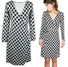 Tantrend Black Dot Print Wrap Dress - Fashion from Madrid, Spain