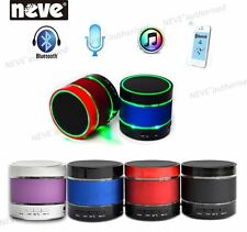 Portable Hifi LED Flashing Bluetooth Wireless Stereo Handsfree Calling Speaker