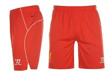 Warrior FC Liverpool Heim Home Hose Shorts 2014 2015 alle Größen Rot