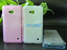 Kolorfish Stylish Simple Silicon Back Case + LCD Film For Nokia Lumia 640