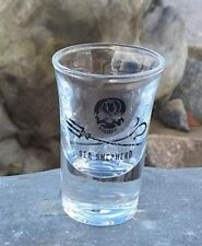 Sea Shepherd Flared Shot Glass, Jolly Roger, Pirate