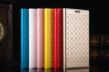 Flip Wallet PU Leather Case Plaid Design for Apple iPhone 6 Plus ( 5.5 Inches )