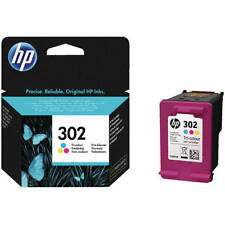 Genuino HP Hewlett Packard 302 TRICOLOR CARTUCHO DE TINTA (F6U65AE)