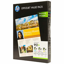 ORIGINAL HP ALTA CAPACIDAD 3 Colour Cartucho de Tinta VALUE PACK HP 951xl C/M