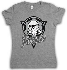 TROOPERS LOGO MAGLIETTE RAGAZZA Darth Star Scuro Imperial Storm Vader Wars