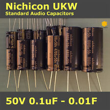 Nichicon UKW KW Standard for Audio [50V] Capacitors