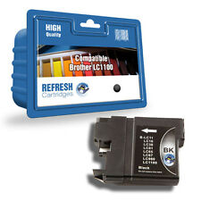 1 COMPATIBLE CON NEGRO BROTHER DCP MFC CARTUCHO PARA IMPRESORA LC1100 LC980
