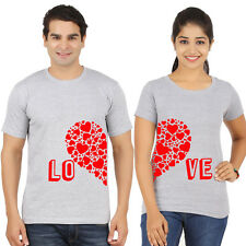 couple t shirts (love heart) valentines day tshirts, lovers tees, f