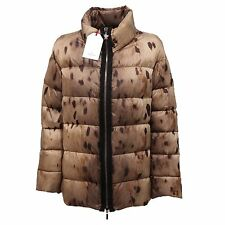 8892Q giubbotto donna MONCLER GAMME ROUGE animalier piumino jacket women